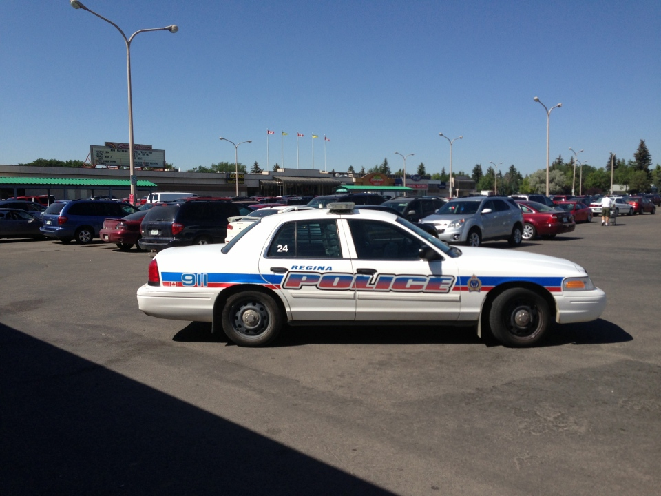 Regina police rescued two young children after they were left inside a sweltering car in the Golden Mile Shopping Centre parking lot on Tuesday afternoon.