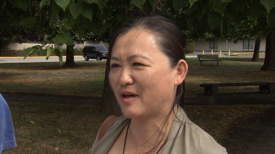 Hai Xia (Hazel) Sun said she was discriminated against by McDonald's employees who refused her service. (CTV)