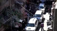 UN investigation team in Damascus