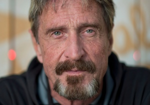 Antivirus pioneer John McAfee poses for a photograph in Montreal, Friday, August 24, 2013. (Graham Hughes / THE CANADIAN PRESS)