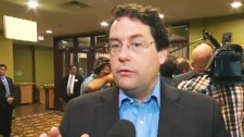 PQ MNA Bernard Drainville said welcomes a debate on the secularism charter. (CTV Montreal Aug. 28,