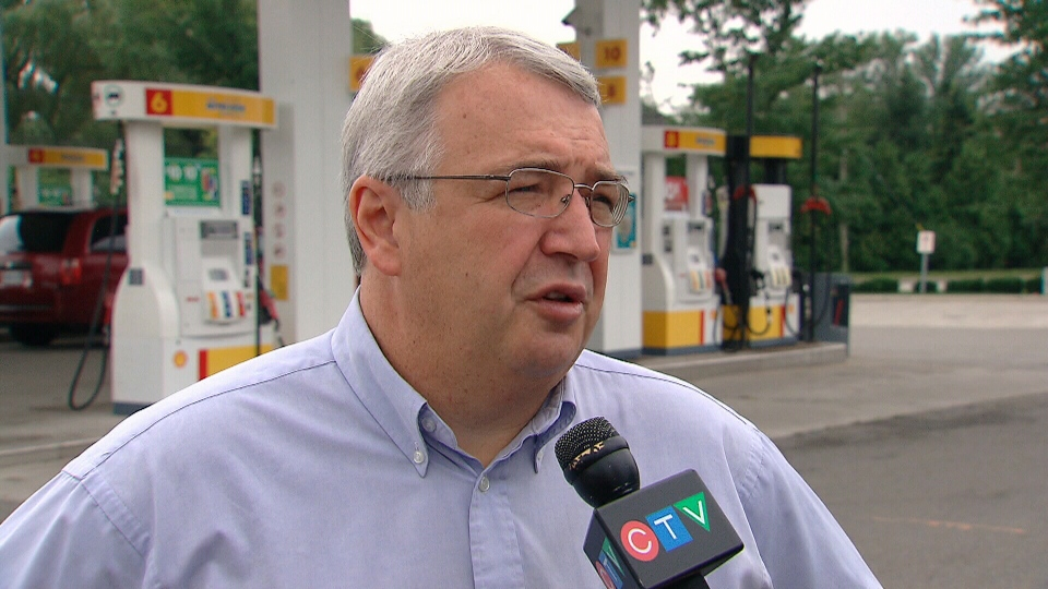 Gas price analyst Dan McTeague appears on CTV National News on Thursday, Aug. 28, 2013.