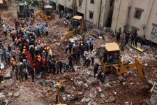 2 apartment buildings collapse in western India