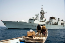 HMCS Toronto Syria Red Sea Canada contribution