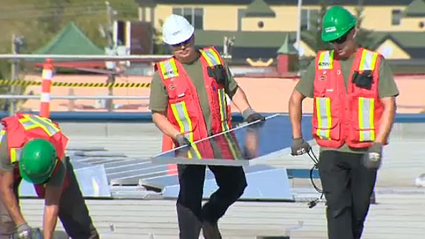 Enmax Harnessing The Power Of The Sun At Calgary Hq Ctv News