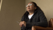 Cherie, a heroin addict, says that staff at Insite trained her how to use. May 25, 2011. (CTV)