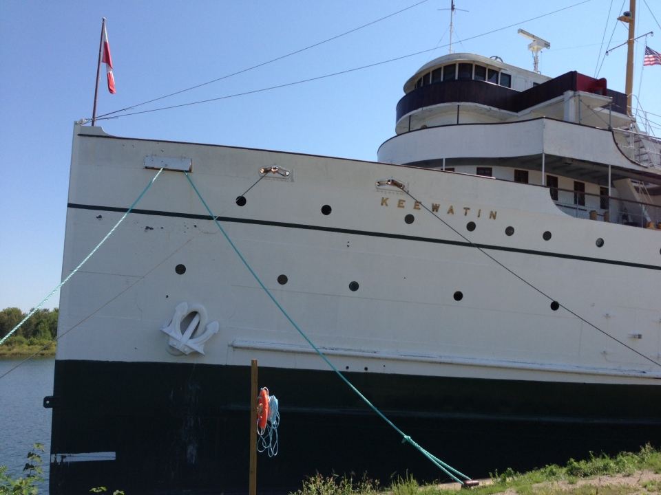 S.S. Keewatin fires up its engine for the first time in five decades (CTV Barrie / K.C. Colby)