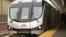 The TTC unveiled its new line of subway trains on May 26, 2011.