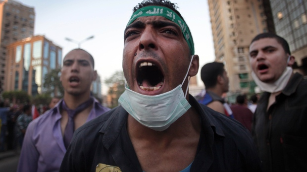 Muslim Brotherhood gather in Egypt