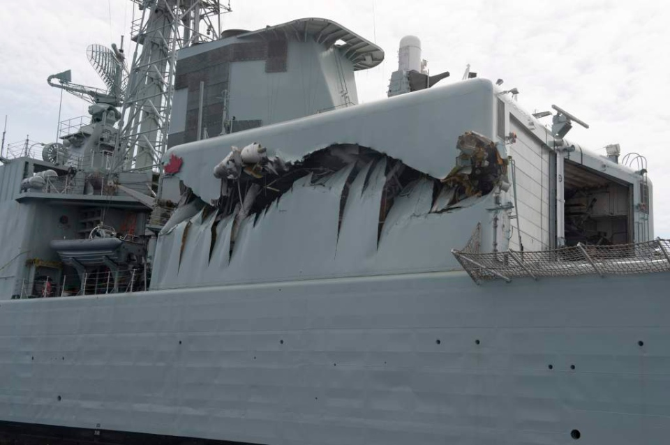 Weekend Collision With Naval Supply Ship Could Hasten