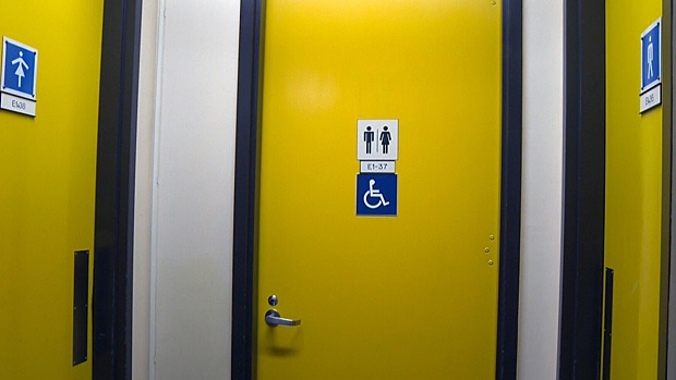 Transgender, all gender bathrooms