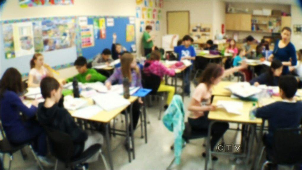 CTV Edmonton: Class size concern