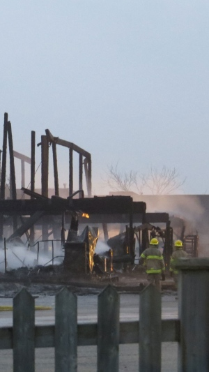 St. Jacobs Market fire