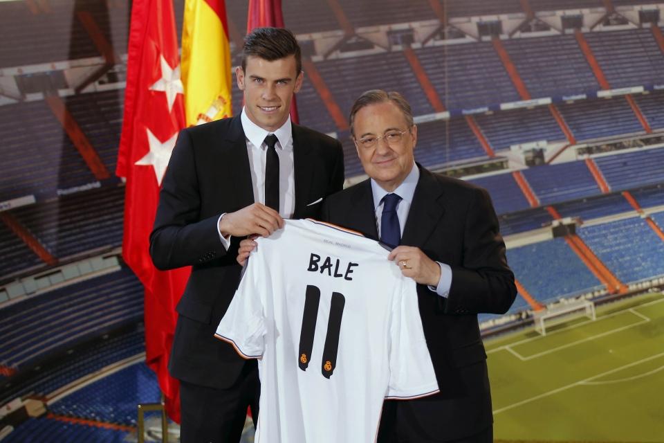 6533ba38b Welsh international soccer player Gareth Bale