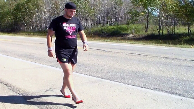 Curtis Hargrove will be walking 30 kilometers a day for nine days to raise money for the YWCA.