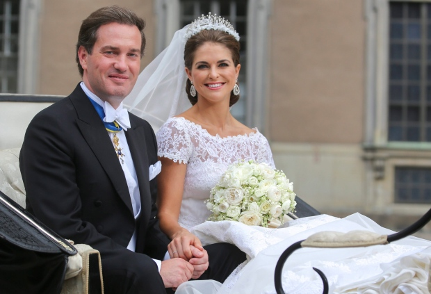 Princess Madeleine of Sweden expecting
