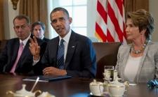 John Boehner, Barack Obama, Nancy Pelosi