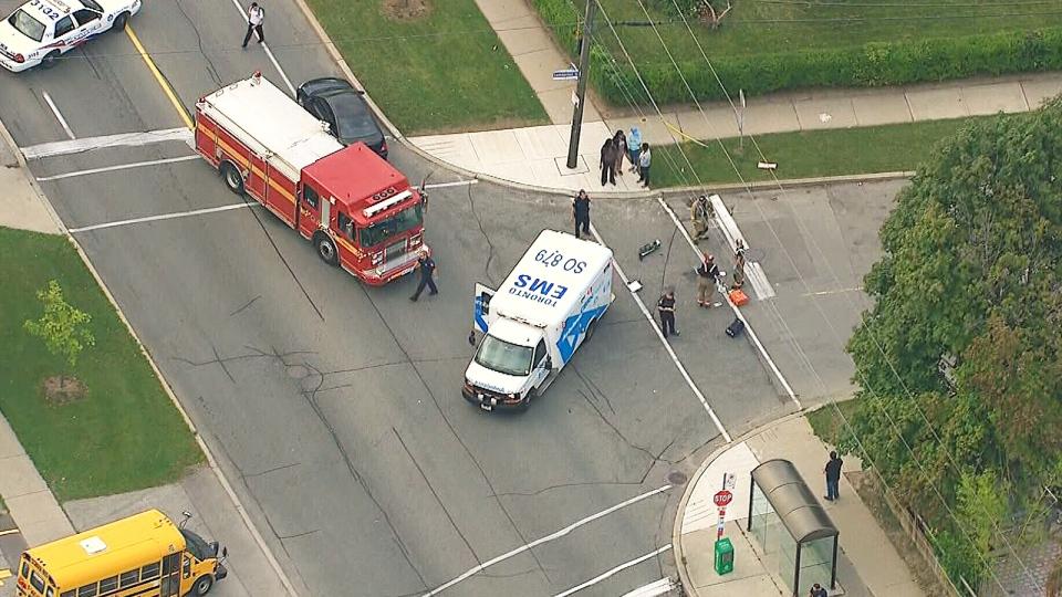 Teen girl dies after being struck by truck
