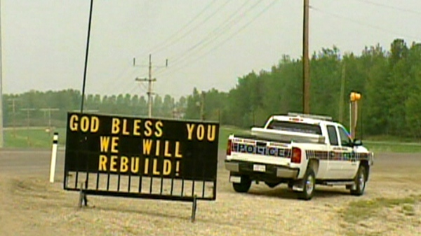 Residents of Slave Lake, Alta. are allowed to return to their homes after they were evacuated from the northern community for nearly two weeks, Friday, May 27, 2011.