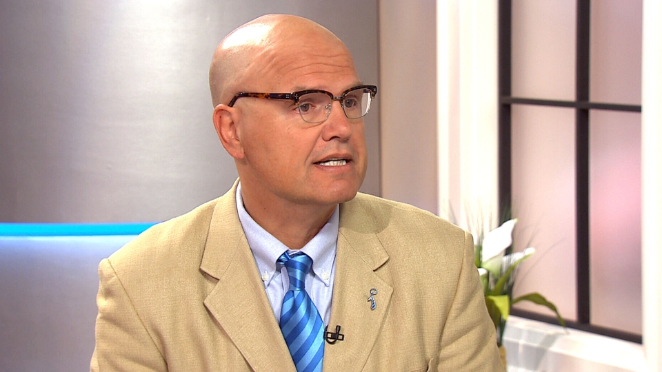 Rocco Rossi of Prostate Cancer Canada speaks to CTV's Canada AM about new prostate cancer screening guidelines on Sept. 4, 2013.