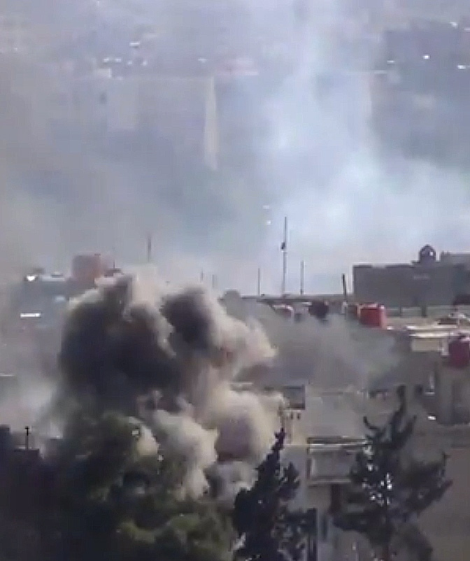 Heavy clashes in Syria chemical weapons