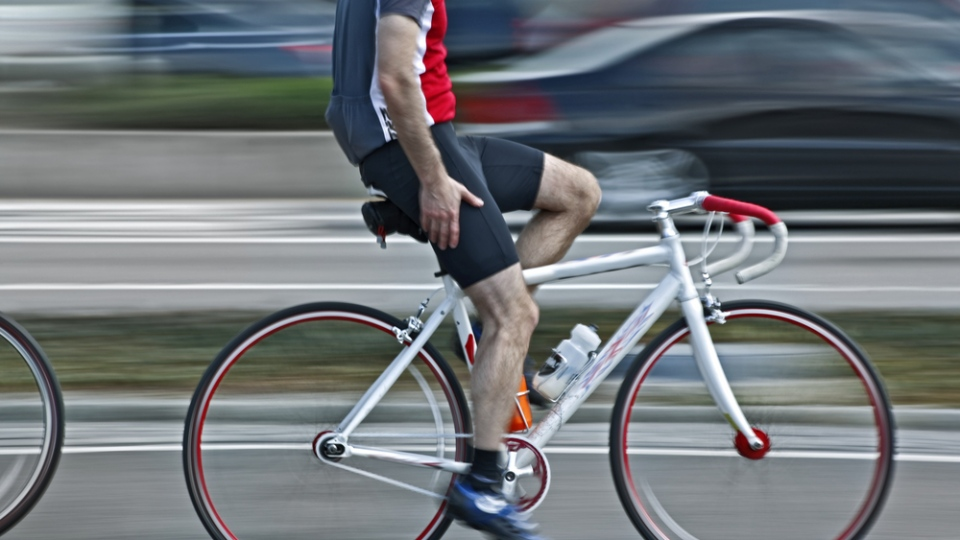 A male cyclist is shown in this undated file photo. (SVLumagraphica/Shutterstock.com)
