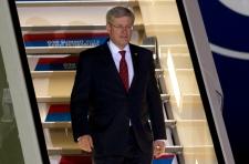 Harper in Russia G20 Canada