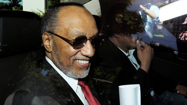 In this file photo, Mohamed bin Hammam arrives for an ethics hearing over alleged bribery during his campaign for the FIFA presidency, at the FIFA headquarters in Zurich, Switzerland, Sunday, May 29, 2011. (AP / Keystone / Steffen Schmidt)