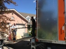 The Smith family's belongings are moved out of their MIllbank Drive area home in London, Ont. on Wednesday, Sept. 4, 2013. (Bryan Bicknell / CTV London)