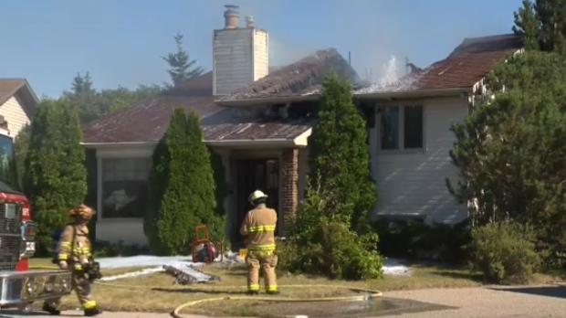The Great Escape Winnipeg >> Afternoon fire destroys Beddington home | CTV News Calgary