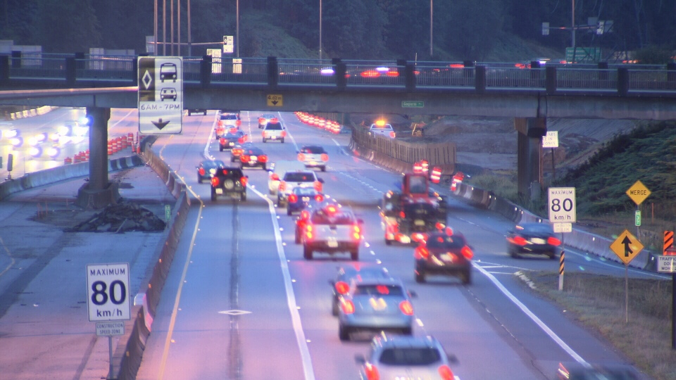 B.C.'s transportation minister says it's time to review posted speed limits for the province's highways. (CTV)