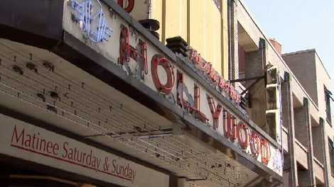 The Hollywood Theatre on West Broadway will screen its final film Sunday night. May 29, 2011. (CTV)