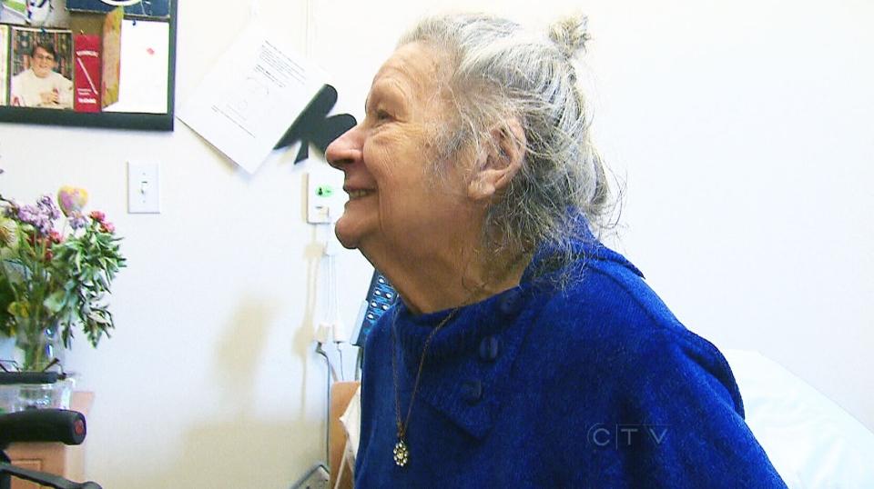Hellen MacDonald, a senior who suffers from dementia, is seen Thursday, Sept. 5, 2013.