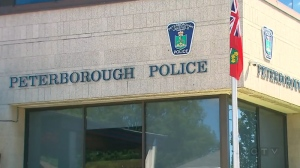 Peterborough, Ont. police headquarters is seen in this file image.