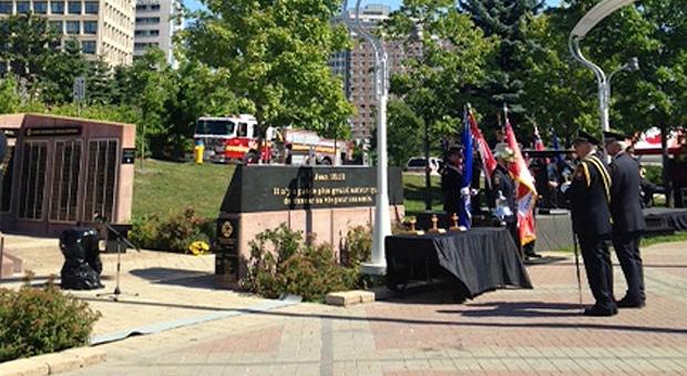 Fallen Ottawa firefighters remembered