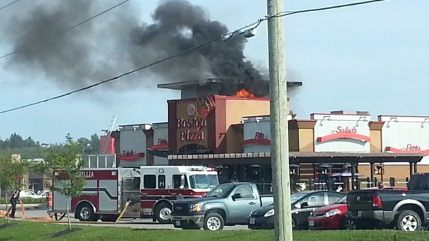 Boston Pizza On Fire Ctv Barrie News