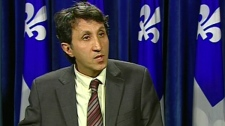 Amir Khadir, Quebec Solidaire's only elected MNA, opposes taxpayer funding of the monarchy (May 31, 2011)