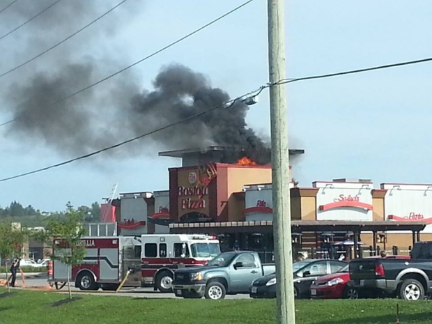 Boston Pizza Fire Blamed On Electrical Problem Ctv