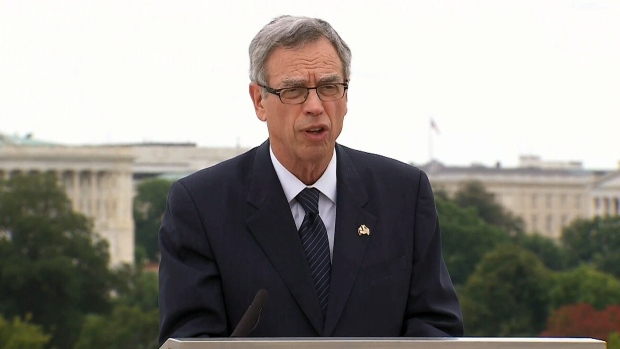 Joe Oliver in Washington