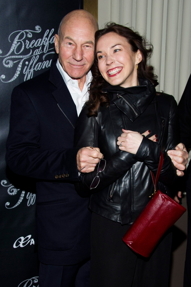 Patrick Stewart tweets news of nuptials to Sunny Ozell ...