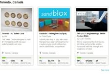 Kickstarter in Canada