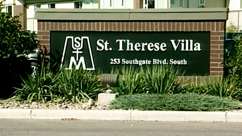 St. Therese Villa, the long-term care home, is seen in this undated photo in Lethbridge, Alberta.