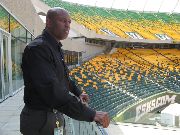 Edmonton Eskimos general manager Ed Hervey