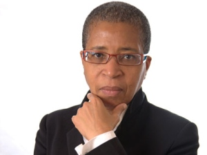 Poet Dionne Brand is shown in a handout photo. (THE CANADIAN PRESS/HO-Griffin Poetry Prize)