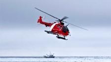 Arctic helicopter crash