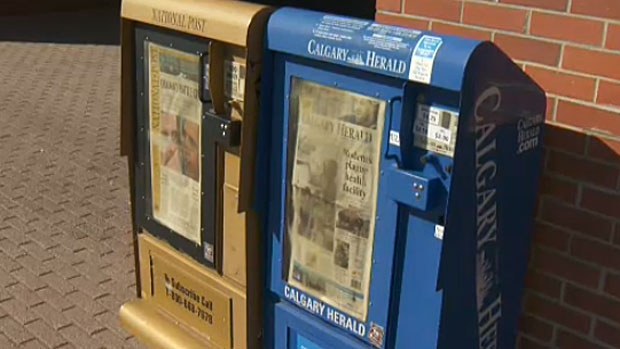 Staff, mainly in the production area at the Calgary Herald office, who've been given notice they will be laid off have been given until November so they can review their options.