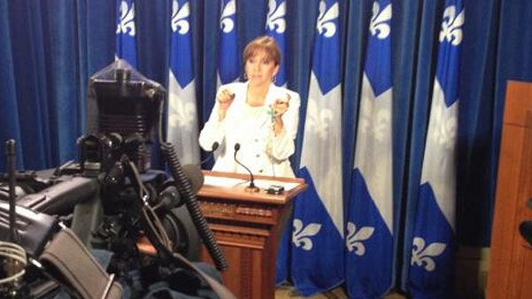 Nathalie Roy of the CAQ says the PQ charter will necessitate the creation of religious police