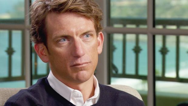 Tyler Hamilton speaks to '60 Minutes' correspondent Scott Pelley in Dana Point, Calif.