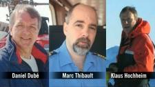 Three men killled in Arctic crash