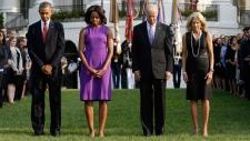 Obama Biden White House 911 memorial live